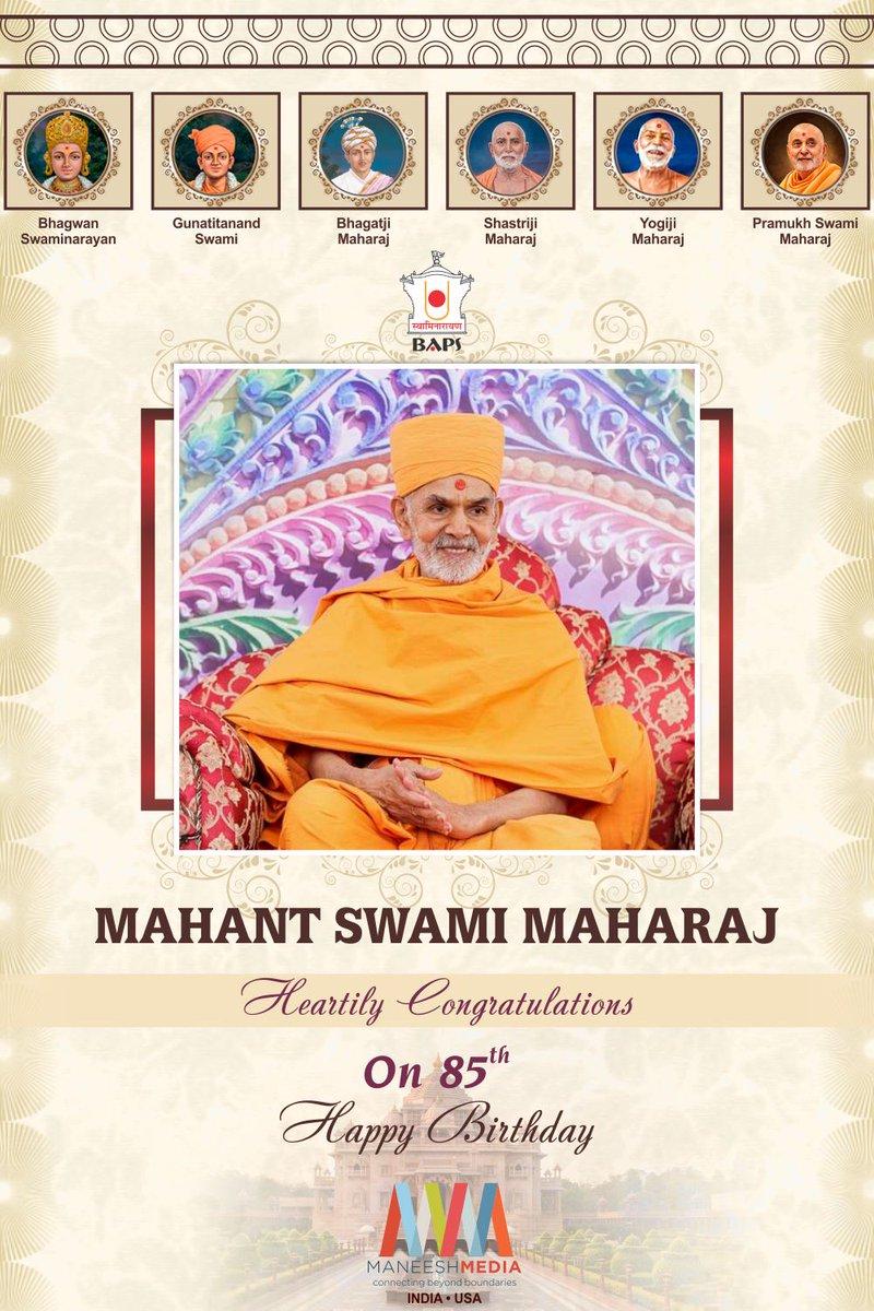 Happy New Year Mahant Swami 61