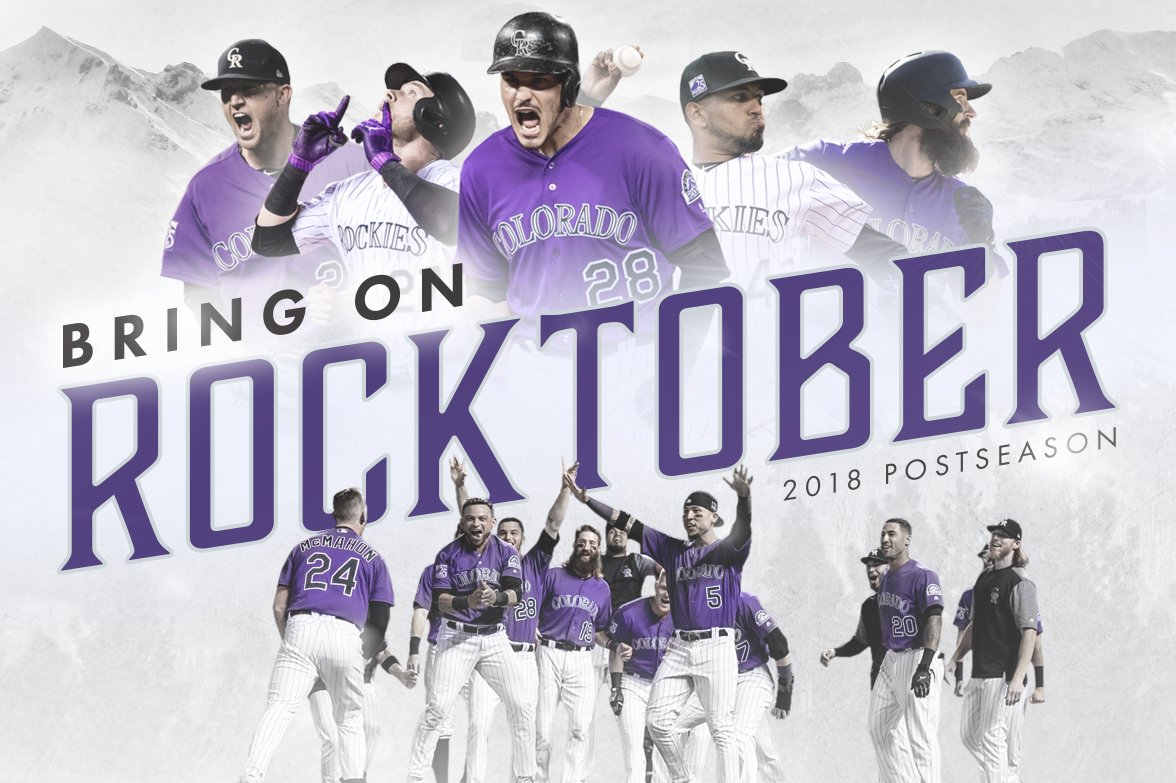 colorado rockies on twitter rocktober rolls on the colorado