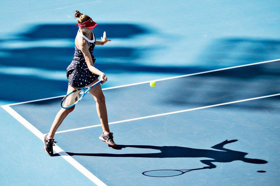 Under the Beijing ☀️ @WTA @ChinaOpen