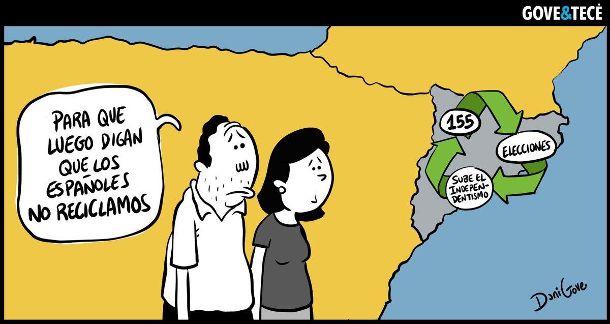 España es una democracia ecológica. La viñeta de hoy junto al gran @Dani_Gove de #Gove_Tecé