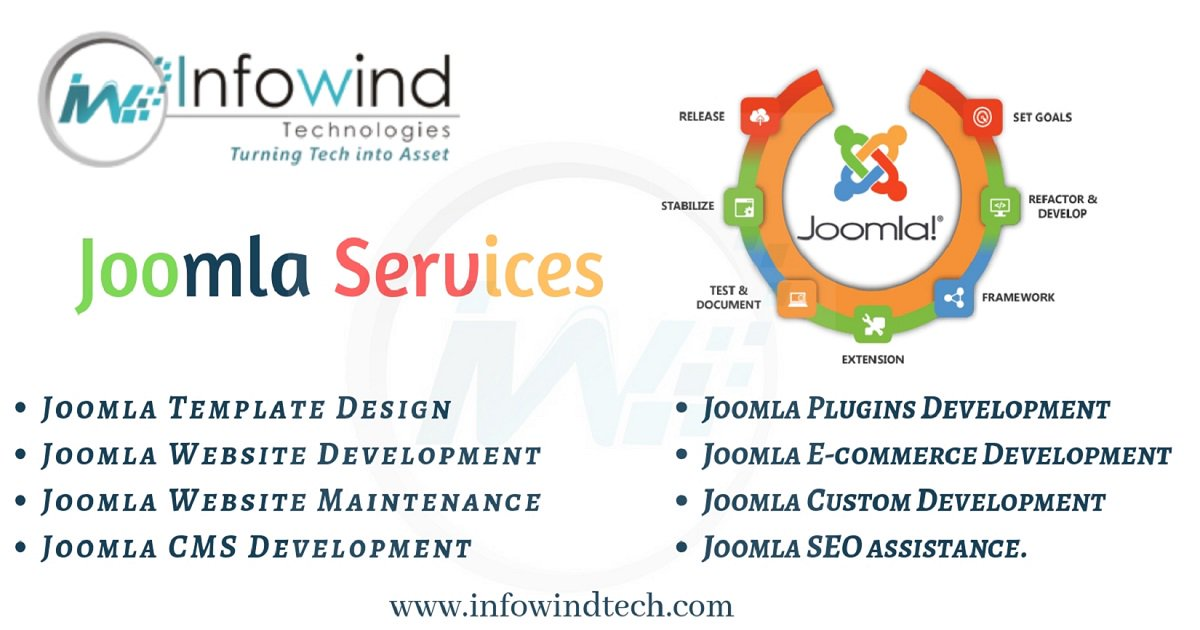 Infowind Technologies, a known Joomla development service provider  company has the proven and experienced developers that work dedicatedly  for your web requirements.  #Joomla #JoomlaDevelopment #JoomlaWebDevelopment #Technology #CMS #JoomlaWebsite #InfowindTechnologies<br>http://pic.twitter.com/GpC09C7pVn