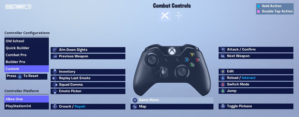Bigtimmyc On Twitter Check Out My New Custom Controller Binds