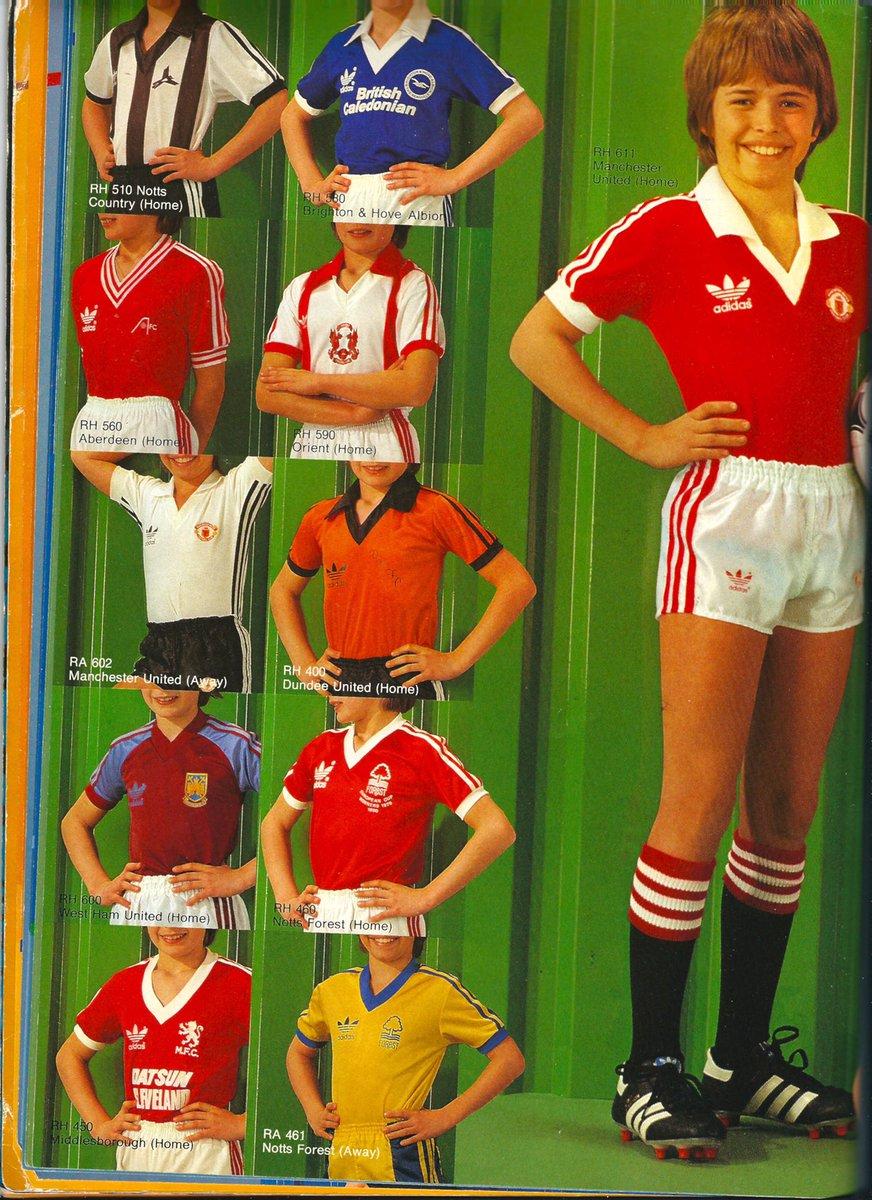 Manchester United Home Shirts History - Nils Stucki