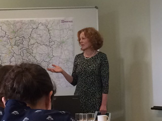 Great to be at #OnePublicEstate 'Housing Delivery Workshop' yesterday for the #NorthMidlands. Local Partnerships' project director Jenny Coombs and Judith Atkinson, Strategic Director for Housing(below) spoke about #HousingDelivery for #councils