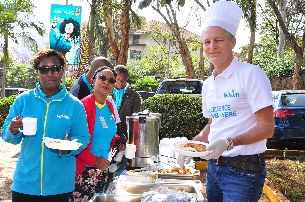 We continue to embrace Quality Customer Experience. #CustomerServiceWeek is a fantasticplatform for us to bring to life one of the @TelkomKenya values - Customer-centricity.