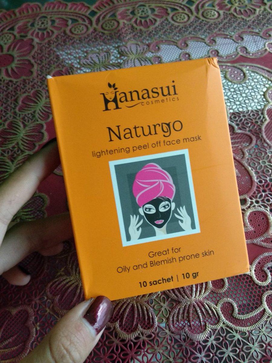Awalnya Iseng Aja Nyoba Produk Masker Naturgo Dari Hanasui Eh Tapi Makin Sini Malah Nagih