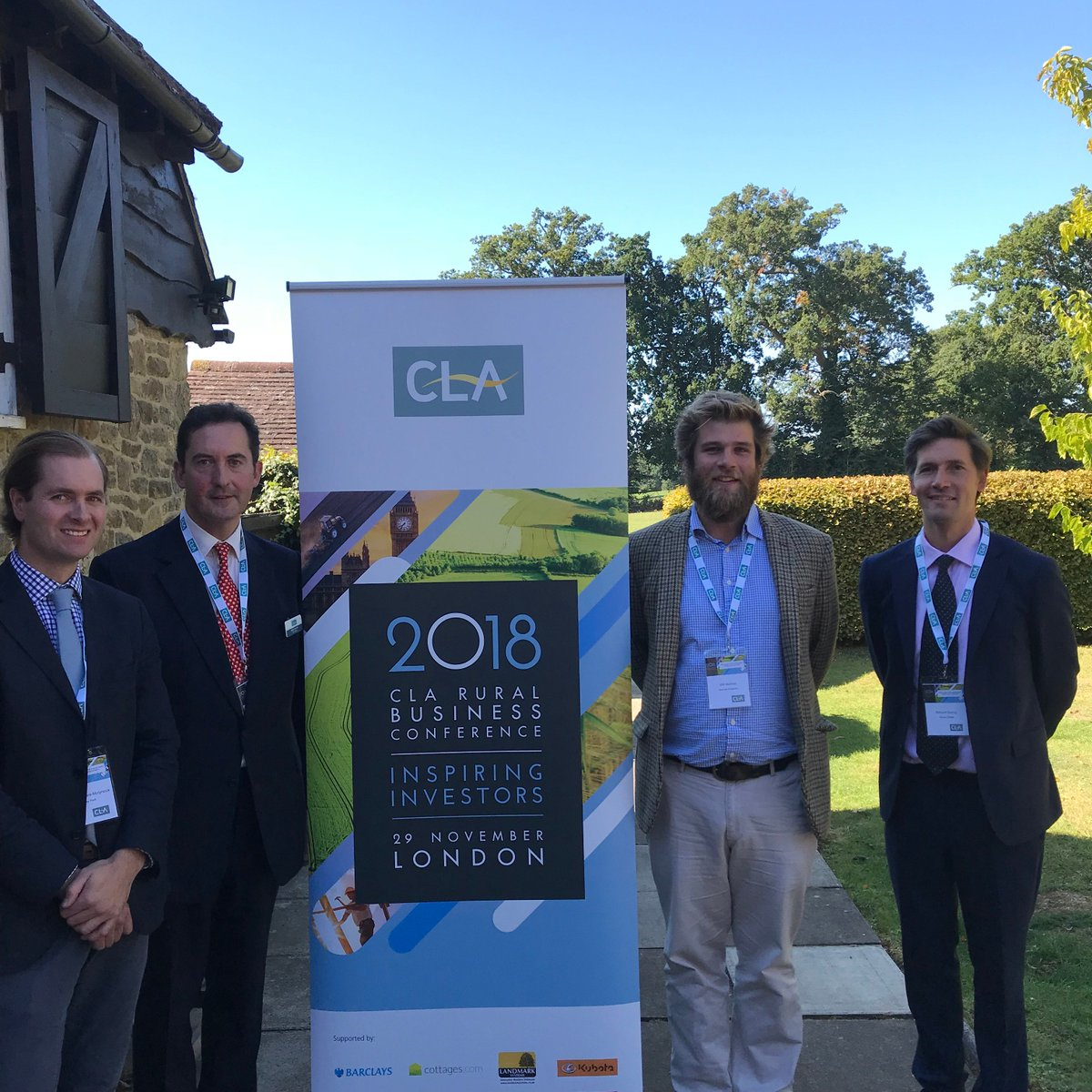 RT @BuyHedgesOnline We had a GREAT day out last week as a keynote speaker at the Rural Business Conference @LoseleyPark talking about our family business. Delighted to have spoken and hope it was useful to the @CLASouthEast members. #inspiringinvestors #ruralbusiness @robinedwardscla  @CLAtweets