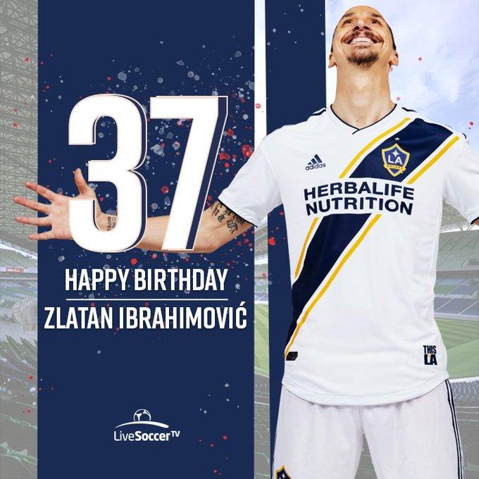 Happy birthday to   Or should we say Happy Zlatan Ibrahimovi to birthdays