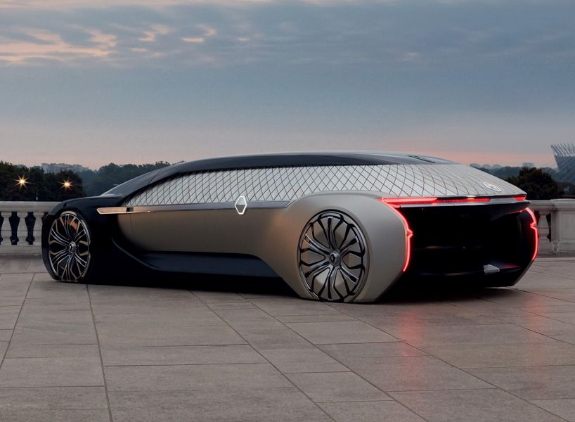 Designboom On Twitter Renault S Ez Ultimo Car Concept Is A Self
