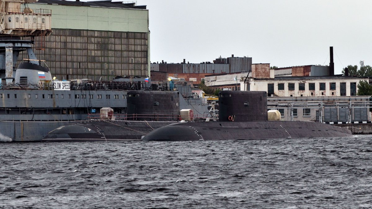 Algeria received the third submarine of the project 06361 74