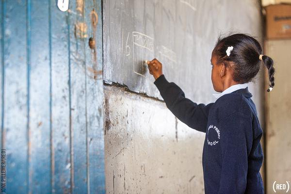 Did you know?! Girls with at least six years of school education are more likely to be able to protect themselves from HIV and other illnesses.