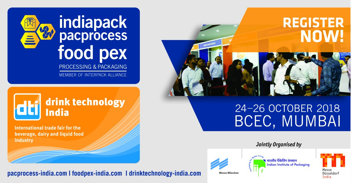 pacprocess & food pex India on Twitter: