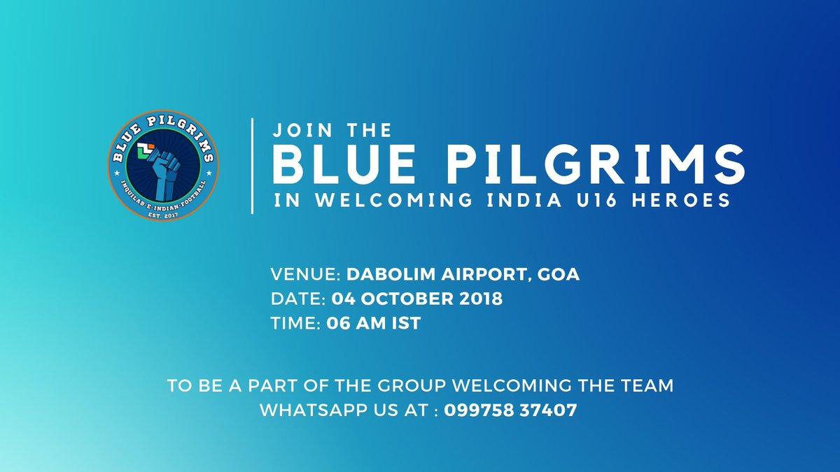 Blue Pilgrims on Twitter: