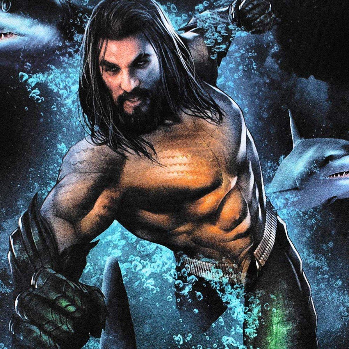 Aquaman New Promo Art Behind The Scenes Stills Comic Book Covers