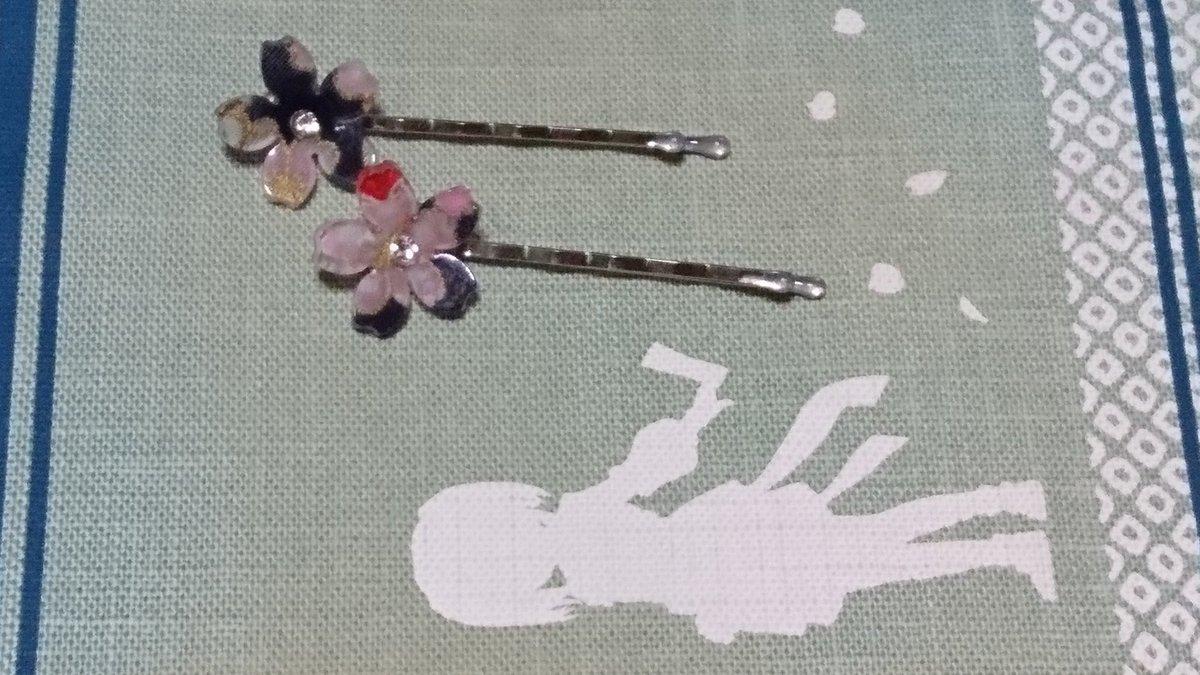 test ツイッターメディア - 帰りにダイソーで可愛いヘアピン見つけた(*´∇`*)  #ダイソー  #ヘアピン https://t.co/etQWntL0Q9