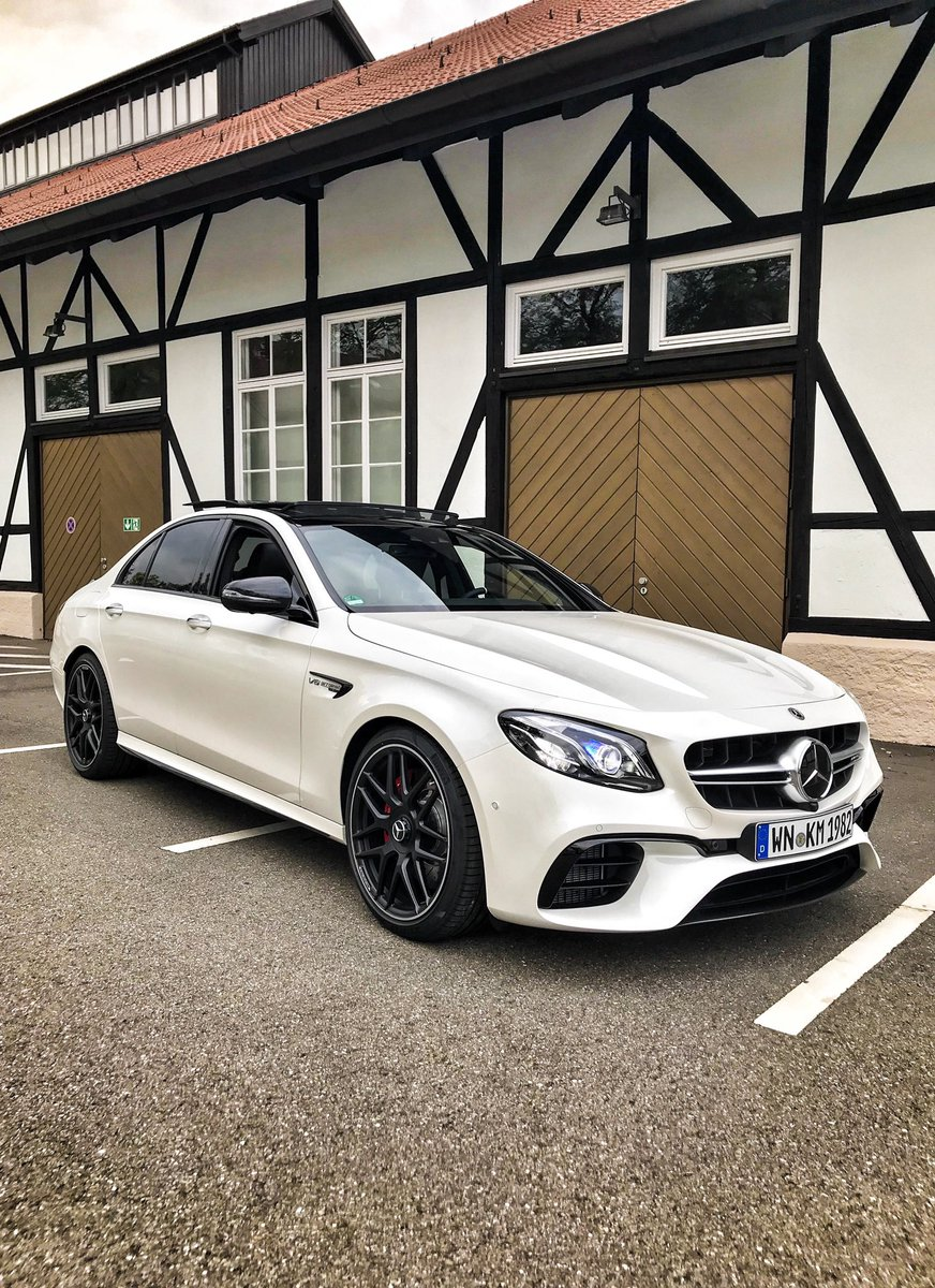 My 2019 AMG E63 S 'The Hammer'. It's Hammer Time ???????????????????????? @MercedesAMG One man, one engine
