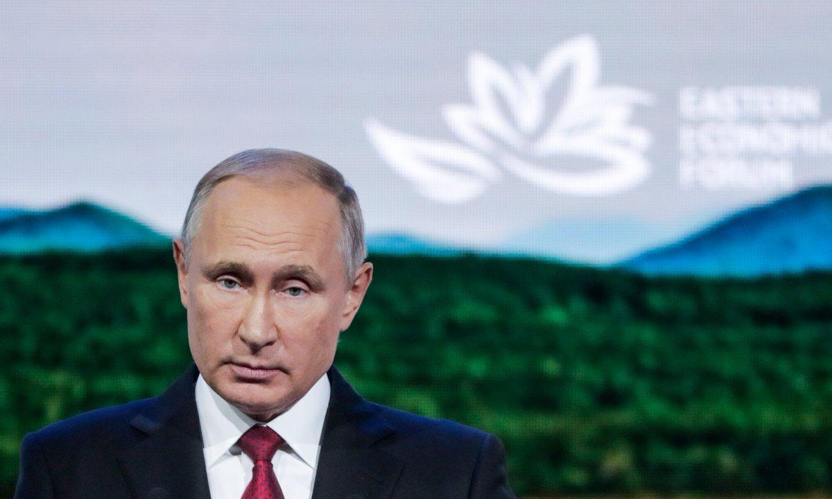 #Rusia | Presidente Vladimir Putin calificó de 'inaceptables' métodos terroristas aplicados contra #Venezuela🇻🇪  El mandatario insistió en que se debe permitir a la nación sudamericana decidir su futuro por sí sola https://t.co/cbi6BqvVWN