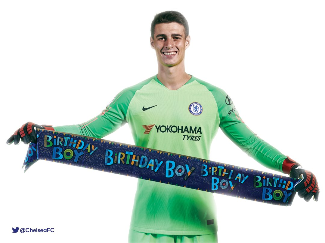 Have a great birthday, @Kepa_46! 🎂🎉