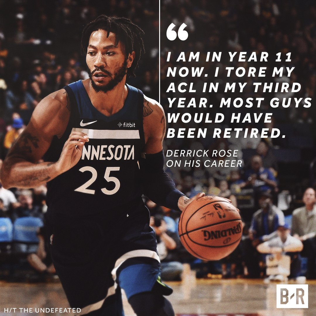 D-Rose keeps things in perspective🌹