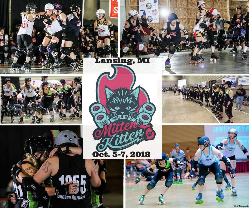 The Mitten Kitten Mash-Up 2018 is just two days away! Make sure to go check it out!  @DerbyVixens | @MittenKittens2 | @LJuniorVixen | @LLSusa (Michigan Chapter) | @summitaimhigh | #LansingSports