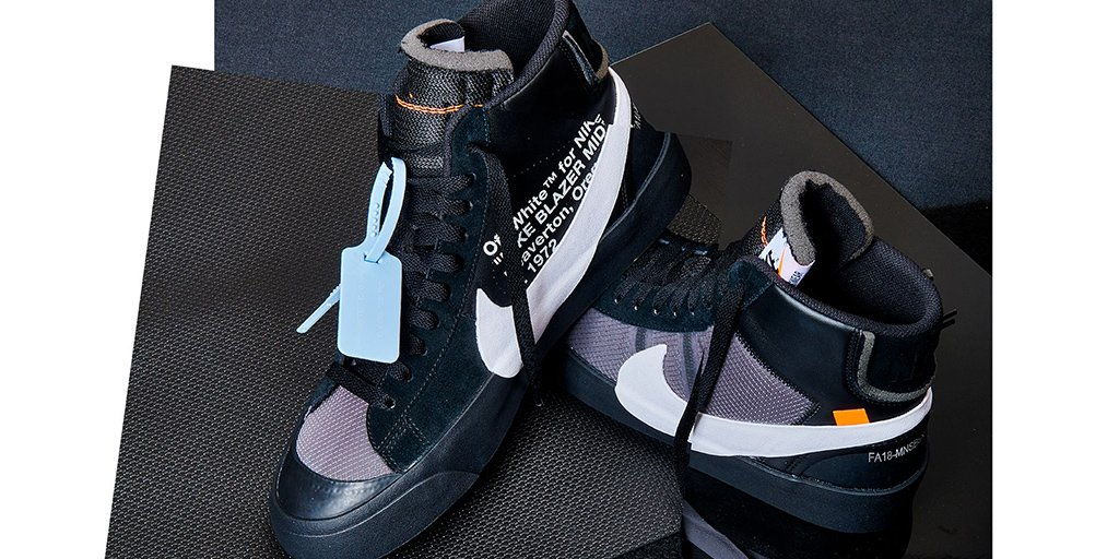 sale retailer 15e04 b5550 the draw for the off white x blazer mid black pure platinum is now open in