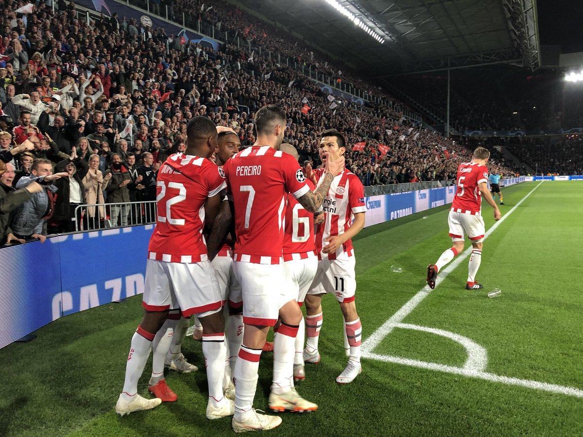 PSV festejó con todo el gol de Pablo Rosario