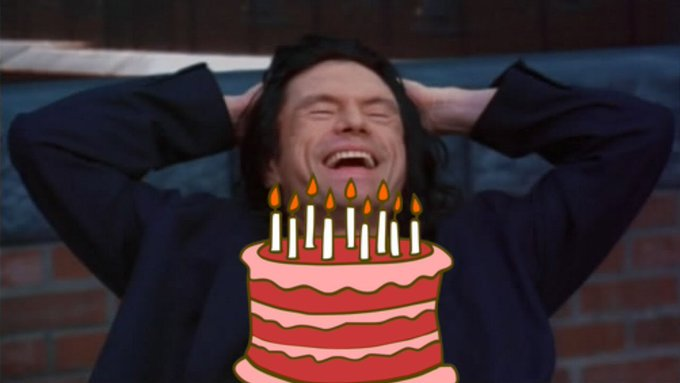 Happy 63rd Birthday to Tommy Wiseau! The actor, director, producer, and screenwriter of The Room.