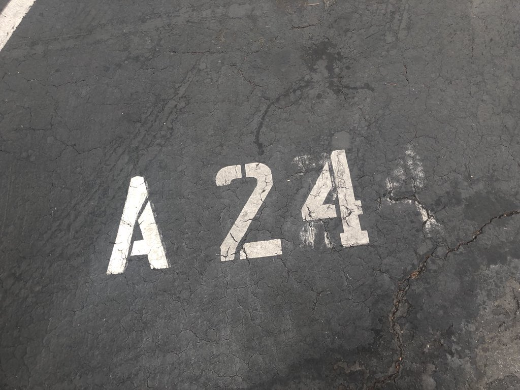 @A24 I also found a lucky parking spot this morning!