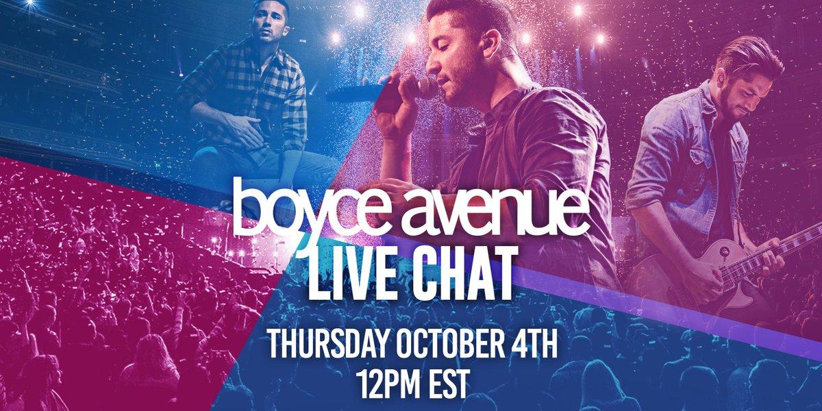 Boyce Avenue on Twitter: