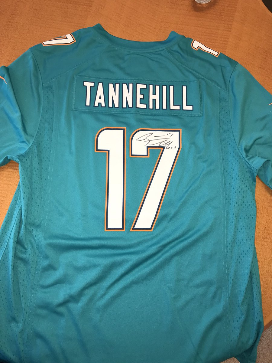 MiamiDolphins are proud to support  HomesForOurTrps annual Veterans Day   eBay auction for wounded veterans with signed  ryantannehill1 and  Kold91  jerseys ... f7e2693bf
