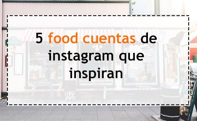 5 cuentas de instagram sobre #foodartistas. Inspiración total! http://bit.ly/2wO0HD9