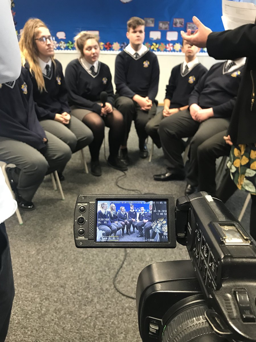 It was great to visit @FeatherstoneAca this morning to hear all about our Roving Reporters' experiences of the project for #LearnerVoiceLive! Roll on 7th November 🎤 #WeAreNCOP