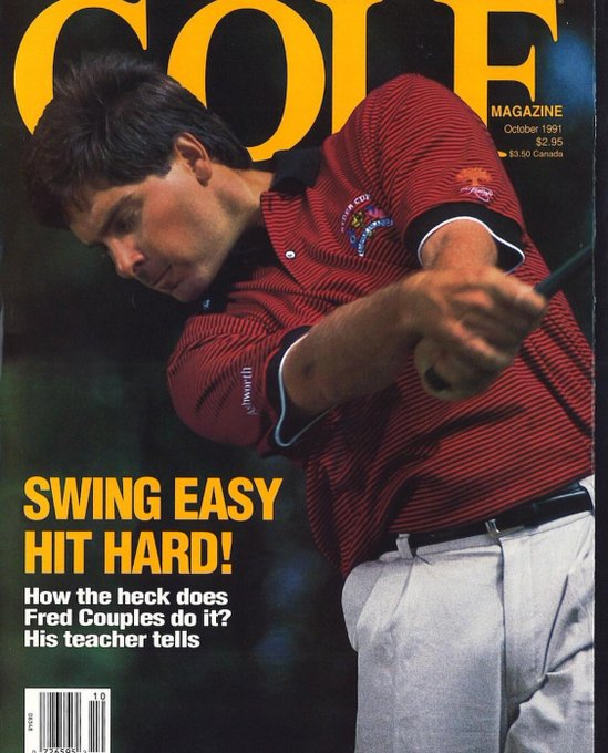 Happy Birthday the the King of Cool .....Fred Couples