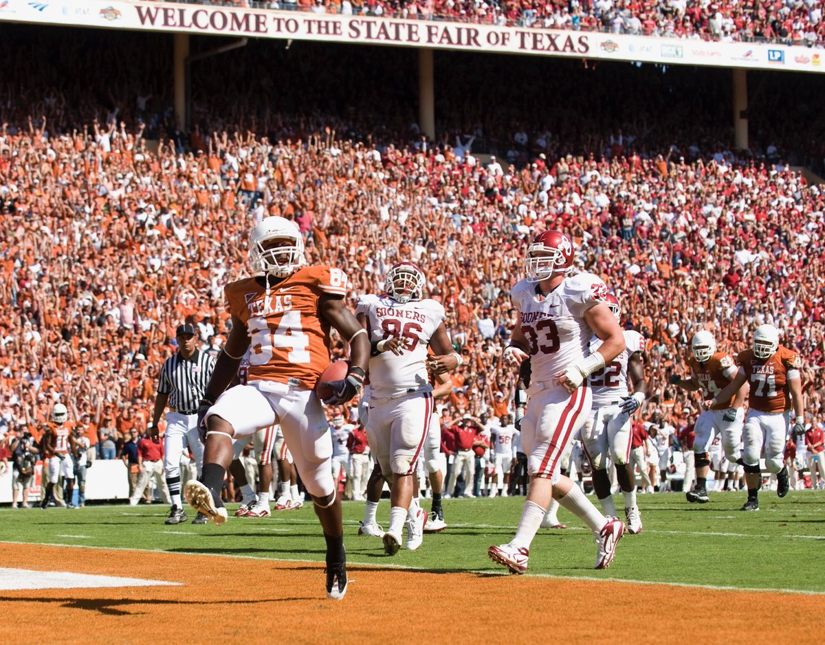 Huge game this weekend for @TexasFootball.  Beat OU! #HookEm
