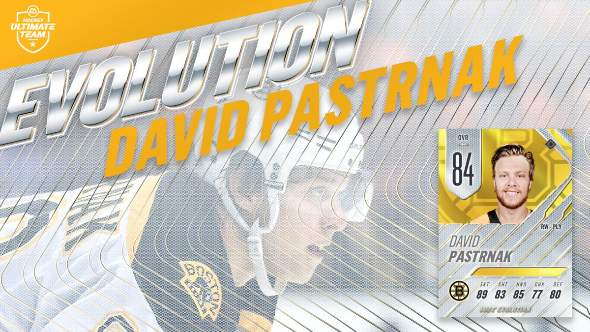 Does your HUT team need an offensive? RT for a chance to win an Evolution @pastrnak96 in #NHL19
