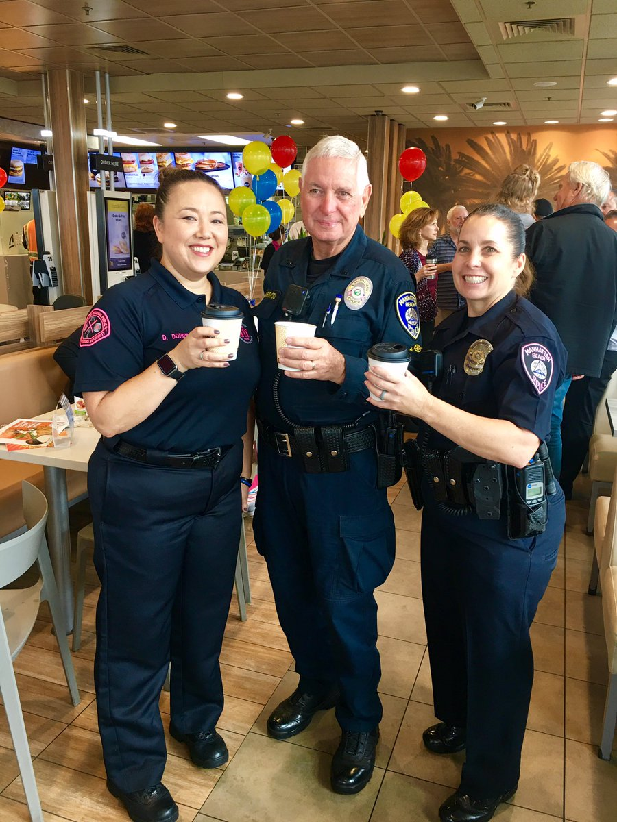 Thanks To Everyone Who Came Out For Coffee With A Cop This Morning Manhattanbeach Nationalcoffeewithacopdaypic Twitter A2fo09tkpu