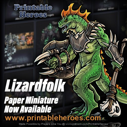 photo relating to Printable Heroes Patreon named Marshall Small upon Twitter: \