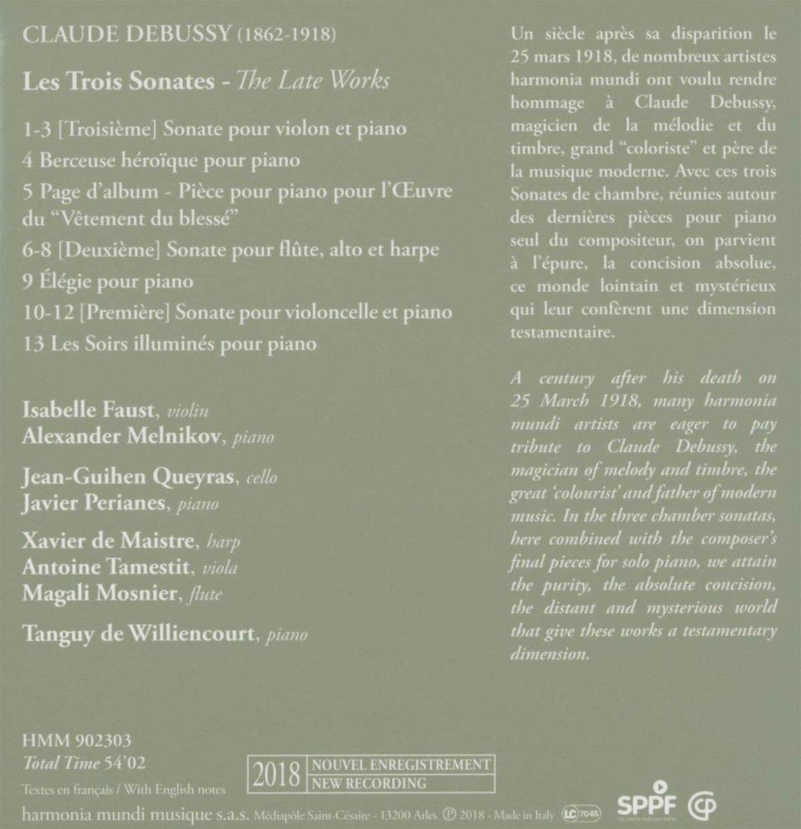 Sonate /à Trois Violoncelles