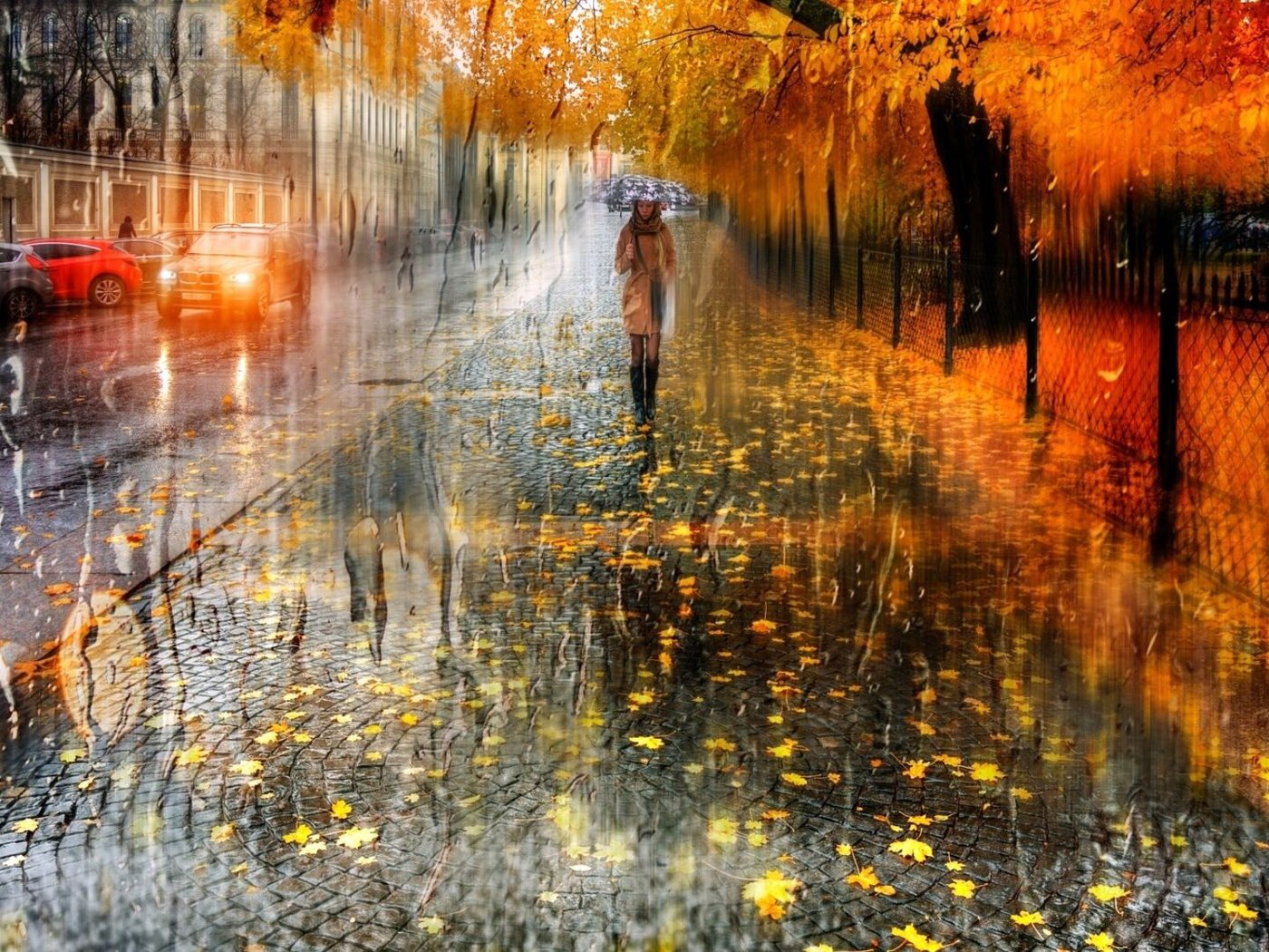 Открытки с дождем в октябре, прикол