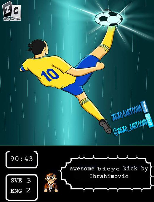 Happy 37th Birthday, Zlatan Ibrahimovic!