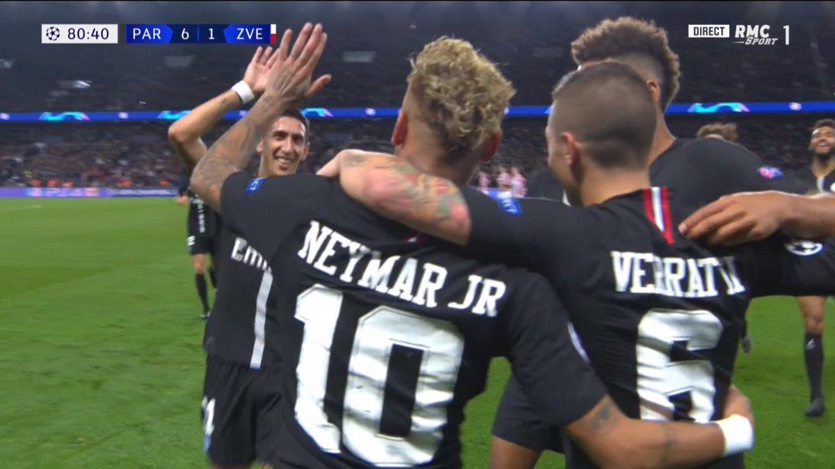 #Neymar quand il est comme ça... Il peut s\