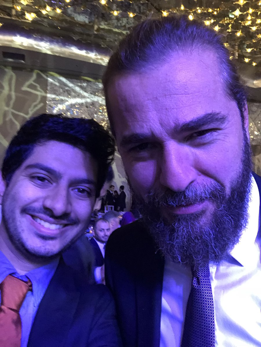 Had a chance to meet ertugrul bey and turgut at the trt