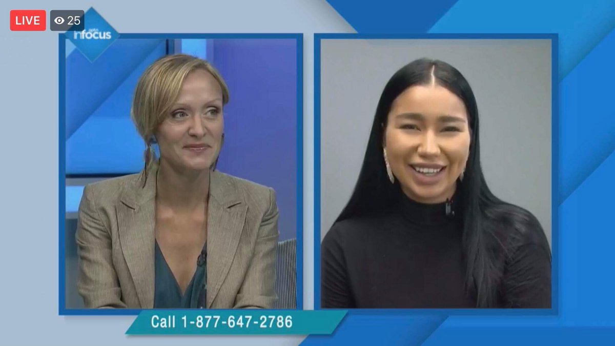 Thank you @APTNInFocus for taking the time to listen to my priorities as a youth leader!