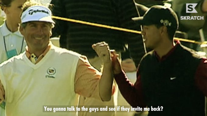 Happy birthday to Fred Couples, a golfing (and skins game) legend.