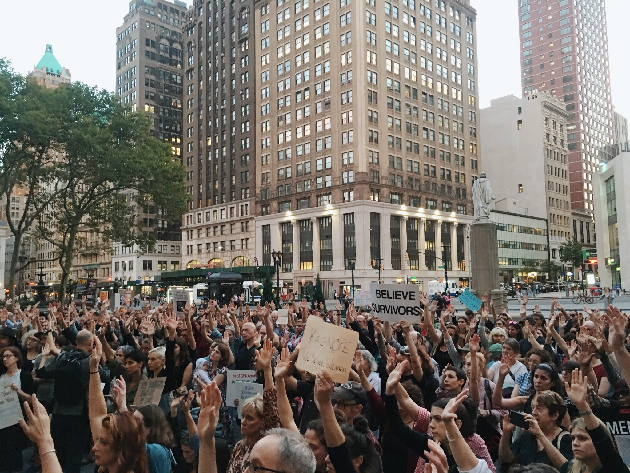 �� This is not Donald Trump's America. This is OUR America. Dissent is patriotic. #StopKavanaugh https://t.co/xncham1lJe