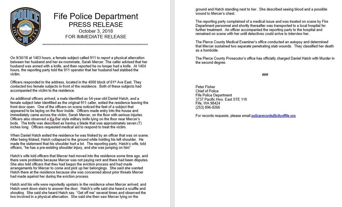 Fife Police Dept  on Twitter: