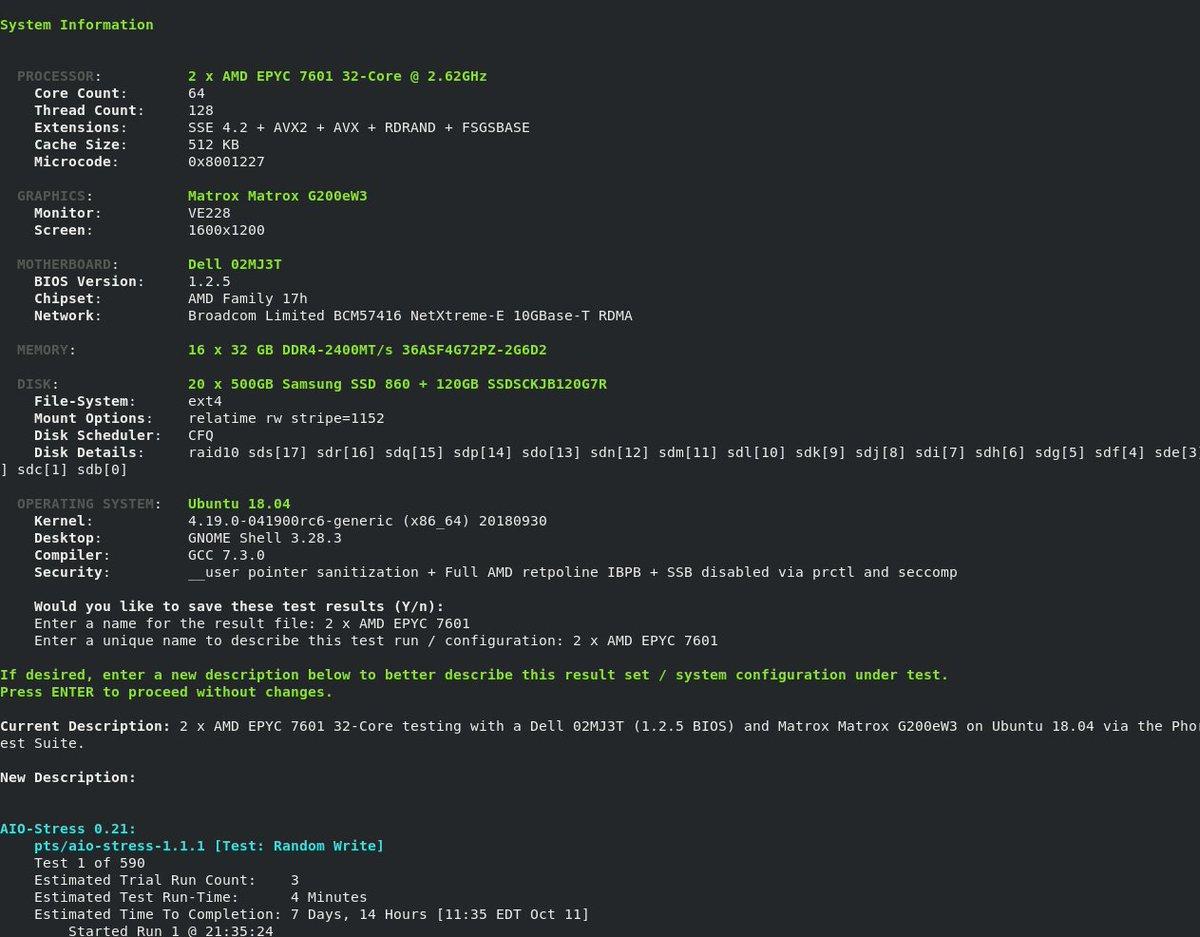"Uživatel Phoronix na Twitteru: ""Some interesting #Linux"