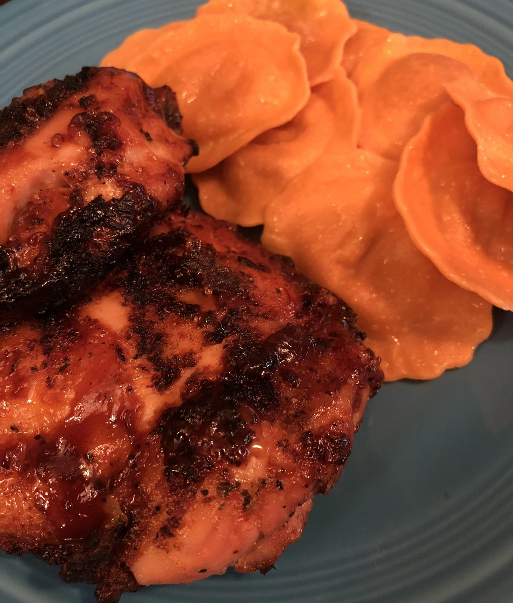 @PascoSheriff #dinner tonight. BBQ 🍗 & #autumn butternut squash ravioli 🤤🤤 #yum https://t.co/jhuQ1CeuVT