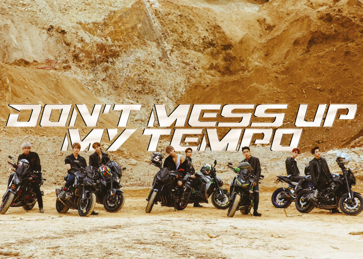 #DONT_MESS_UP_MY_TEMPO 자켓 이미지 공개 (Ver. Moderato)  🖱'DON'T_MESS_UP_MY_TEMPO' 예약 판매: 2018.10.04.  #엑소 #EXO #weareoneEXO #EXOComingSoon