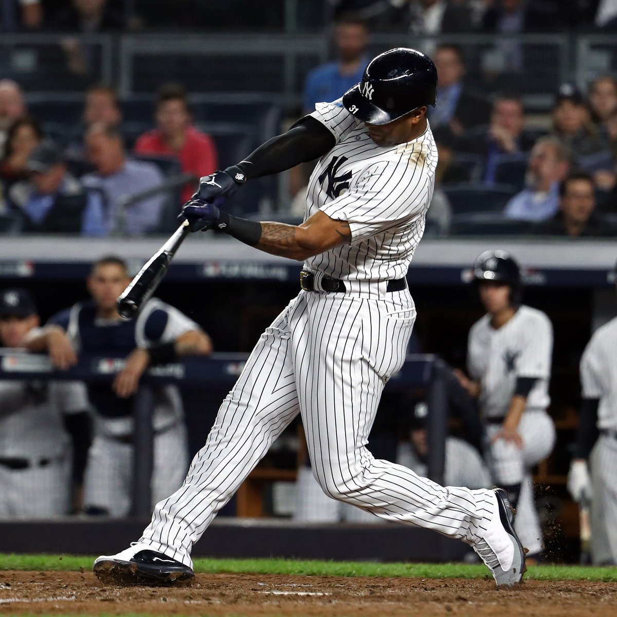 quality design 2bc9a 896c6 solewatch: @aaronhicks31 wearing air jordan 13 cleats in the ...